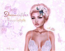 +Dreamcatcher+ Flower hairpin with HUD