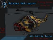 [COD] Banshee Helicopter (K-Damage) - Mesh