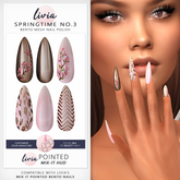 LIVIA // Mix It Polish // Springtime No.3 [Pointed Polish HUD]