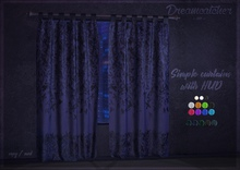 +Dreamcatcher+ Simple curtains with HUD