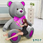 Teddy White Giant Teddy