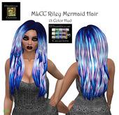 MLCC Riley Mermaid Hair Box