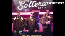 Soltera Remix ~ Lunay x Daddy Yankee x Bad Bunny {Full song + Dance}