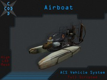 [COD] Airboat - Mesh