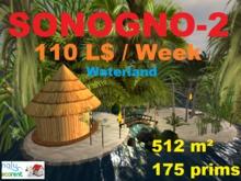 Land for rent 512 m² - 175prims - L$ 110 / week