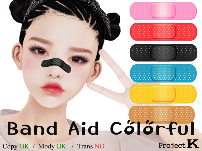 Project K Band Aid Colorful