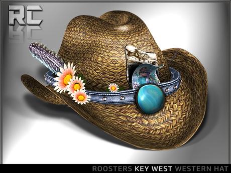 Roosters (Key West) Western Hat