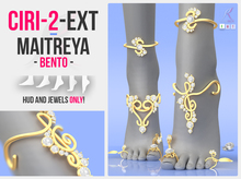 MAITREYA FOOT & FEET ::: JEWELS & JEWELRY ::: ACCESSORY & ACCESSORIES