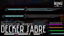 [inZoxi] - Unscripted Decker Sabre