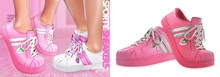 Spoiled - Sporty Sneakers Flat & Tippy Toe  Polly Pocket Pink