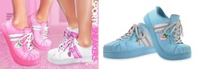 Spoiled - Sporty Sneakers Flat & Tippy Toe Babyblue