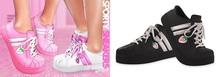 Spoiled - Sporty Sneakers Flat & Tippy Toe Black
