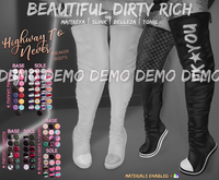 *B.D.R.* Highway To Never -Sneaker Boots- DEMO