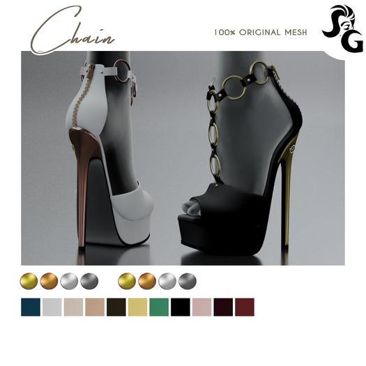 ::SG:: Chain Shoes - MAITREYA