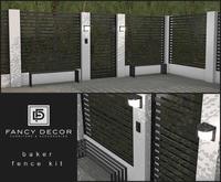 Fancy Decor: Baker Fence Kit