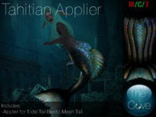 *The Cove* Tahitian Applier Fatpack (Wear to unpack)