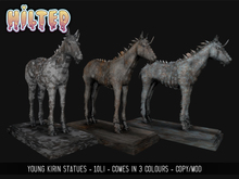 HILTED - Young Kirin Statue Pack