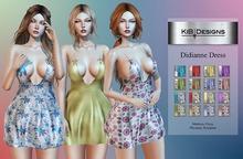 "KiB Designs - Didianne Dress  Box ""Wear"""