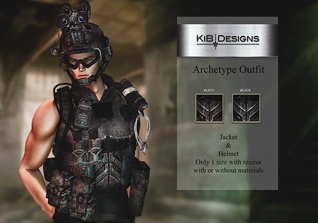 KiB Designs - Archetype Outfit  DEMO