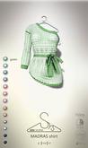 [sYs] MADRAS shirt (body mesh) - green GIFT <3