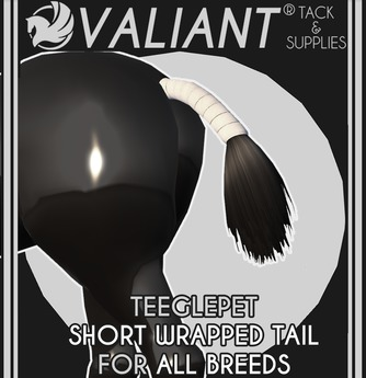 VALIANT - TEEGLEPET Short Wrapped Tails [ALL BREEDS]