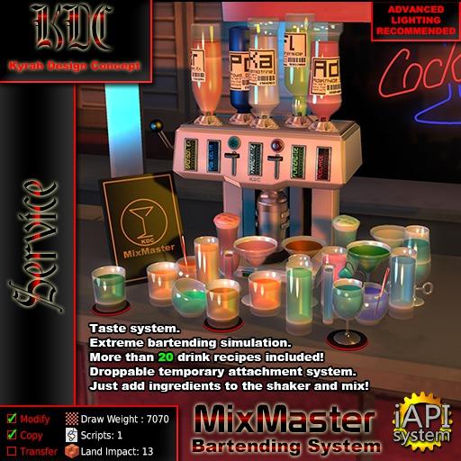 KDC MixMaster - Bartending System