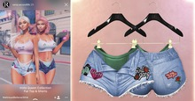 RAMA - Insta Queen Shorts 'Bright Blue'