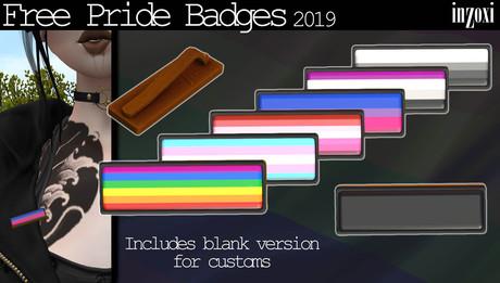 [inZoxi] - Free Pride Badges