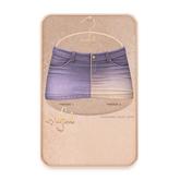 Cynful Ekaterina Jeans Skirt - Lavender  [Maitreya Lara, Belleza (Isis + Freya), Slink (HG), Legacy