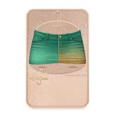 Cynful Ekaterina Jeans Skirt - Seagreen  [Maitreya Lara, Belleza (Isis + Freya), Slink (HG), Legacy