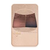 Cynful Ekaterina Jeans Skirt - Tan  [Maitreya Lara, Belleza (Isis + Freya), Slink (HG), Legacy