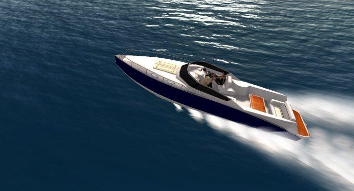 Michie Marine Sport Cruiser SD35