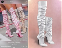 RAMA - Insta Queen High Boots 'Marshmellow'