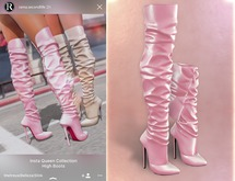RAMA - Insta Queen High Boots 'Pink'