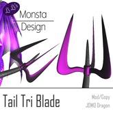 [LiLiMD] JOMO Dragon - Tail Tri Blade (Box)