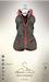 [sYs] AVA bodyshort (body mesh) - khaki/red