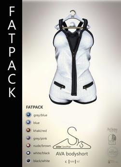 [sYs] AVA bodyshort (body mesh) - FATPACK