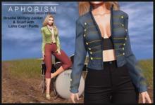 !APHORISM! - Brooke Military Jacket/Scarf - DEMO