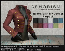 !APHORISM! - Brooke Military Jacket - Fatpack