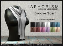 !APHORISM! - Brooke Scarf