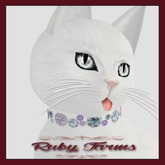 KittyCatS! Jewelry - Collar - Olgita Ruby (No. 37)