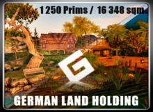 Homestead 1250 Prim Quarter Sim