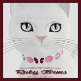 KittyCatS! Jewelry - Collar - Olgita Ruby (No. 39)