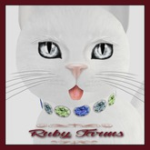 KittyCatS! Jewelry - Collar - Olgita Ruby (No. 40)