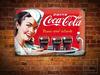 DRINK COCA COLA Pin Up Metal Sign Wall Plaque
