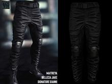 Mossu - Combat Pants - Black