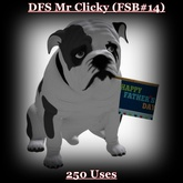DFS Mr Clicky (FSB#14) Uses Left 250