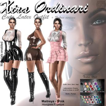 *XO* Cute Latex Outfit