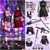 Luas - Mitsuko Chainsaw (Black & Lilac)