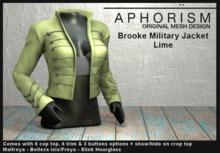 !APHORISM! - Brooke Military Jacket - Lime